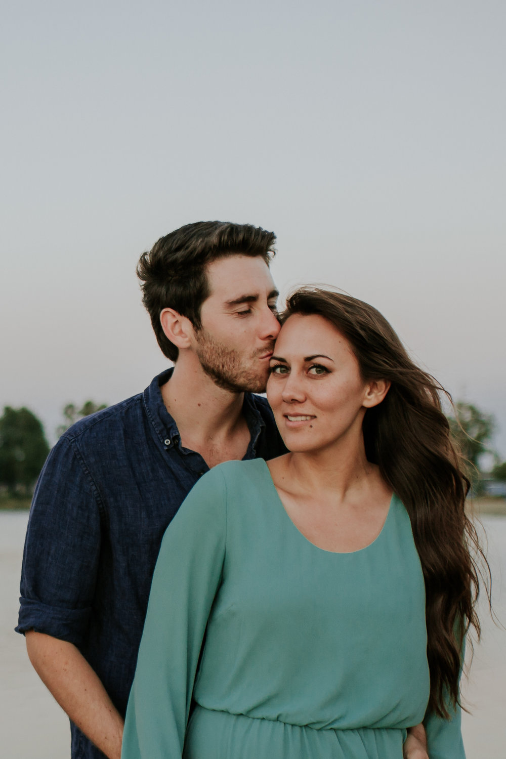 Chelseah and Esteban Long Beach Engagement Colorado Lagoon Signal Hill -190.jpg