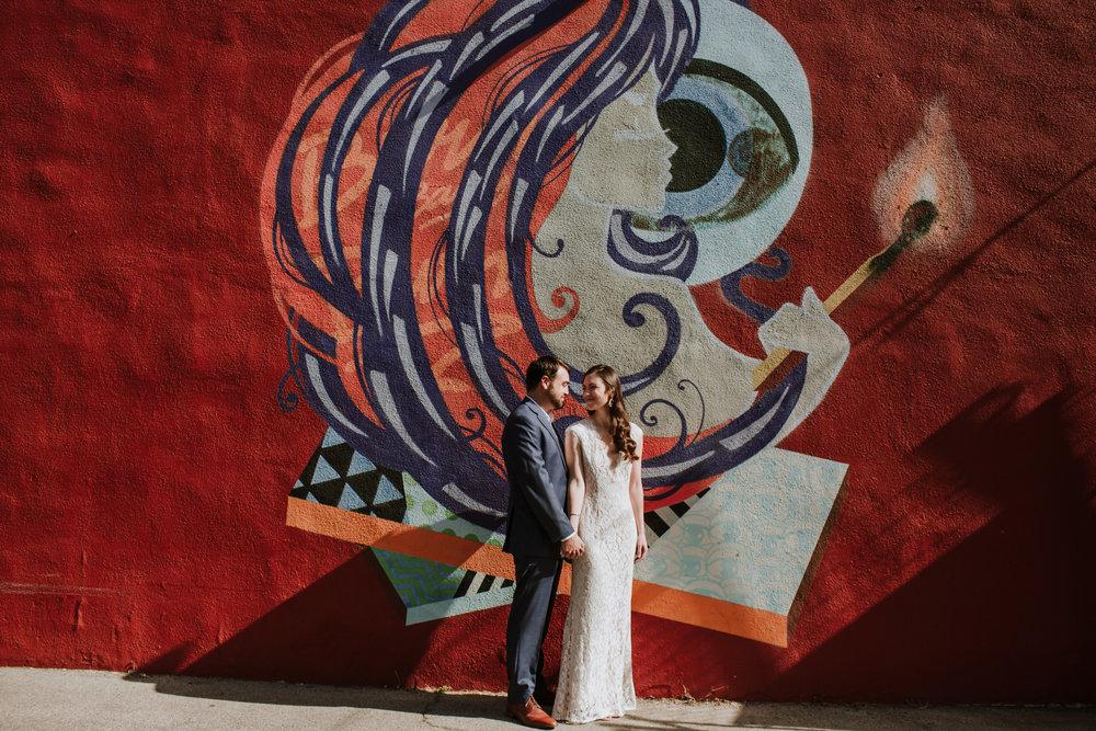 Lauren and Chris Venice Beach California Big Red Sun-1000.jpg