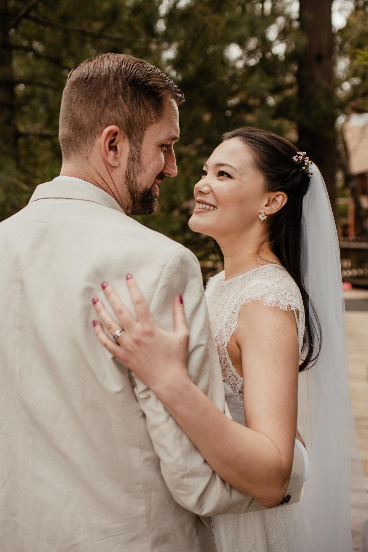 Ariel and Josh Lake Arrowhead Pine Rose Cabins Wedding -91.jpg