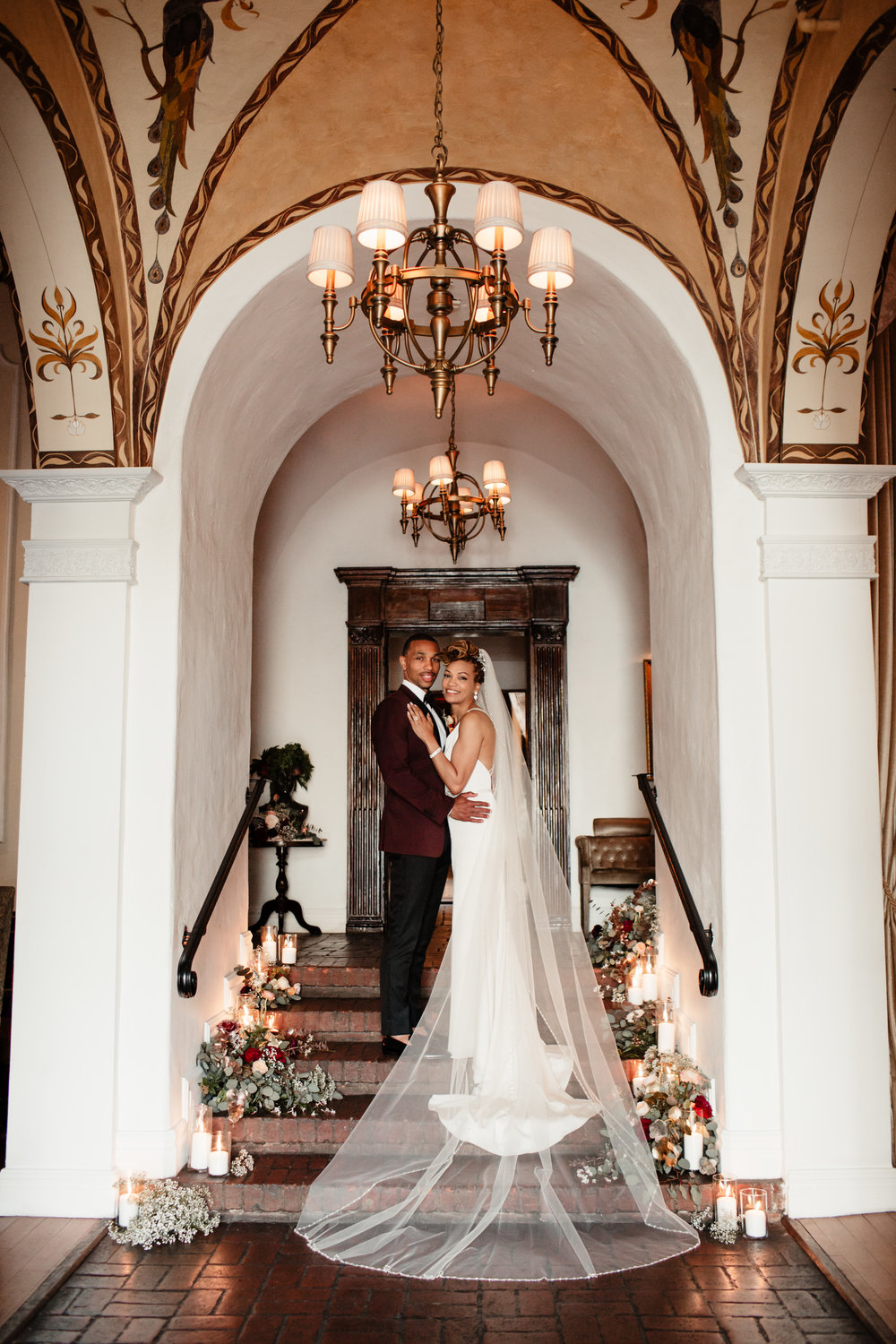 Zia and Zakee Carondelet House Wedding in Los Angeles - Eve Rox Photography-99.jpg