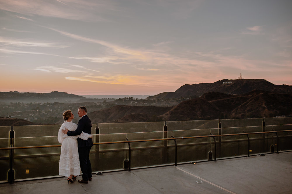 Iva and Simon Griffith Observatory Elopement Los Angeles Wedding-57.jpg