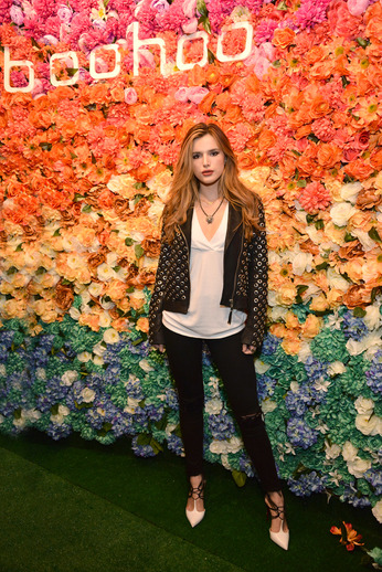 Bella Thorne at boohoo LA Pop Up Store Opening Party.