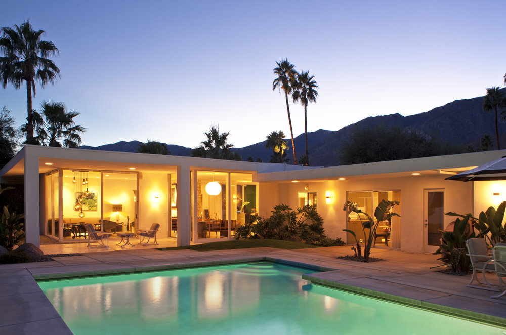 Los angeles interior designer and entrepreneur michael berman was originally drawn to palm springs in the late 90s when the mid century modern craze was