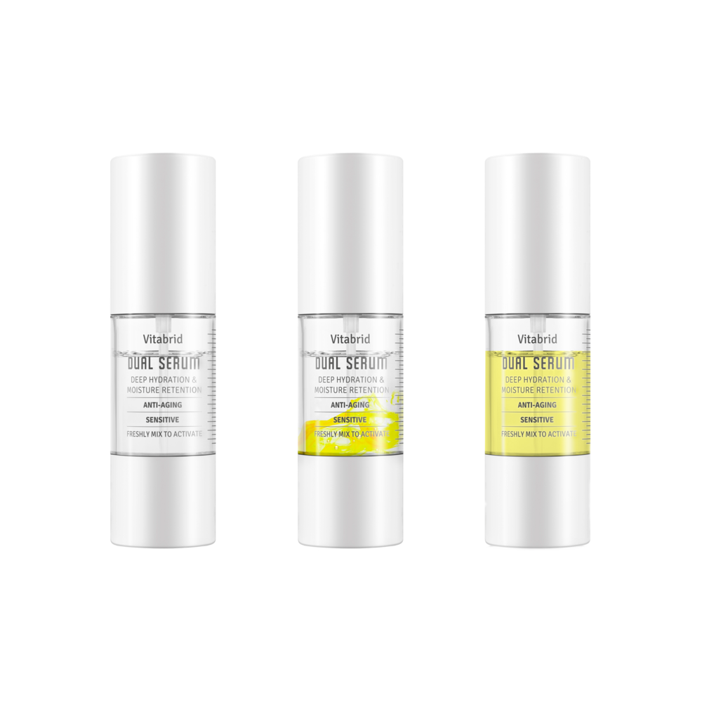 Vitabrid C12 Dual Serum - $75 from www.barneys.comFeaturing an innovative twist-to-mix bottle, this K-beauty serum's advanced design allows the two separate skincare serums enclosed in each bottle (one yellow, one clear) to be freshly mixed together upon opening. Offering stabilized, active vitamin C and peptides, they are mixed only prior to use to activate the ingredients for optimal results and freshness. The formula has a significant anti-aging and anti-wrinkle effect while keeping the skin thoroughly hydrated.
