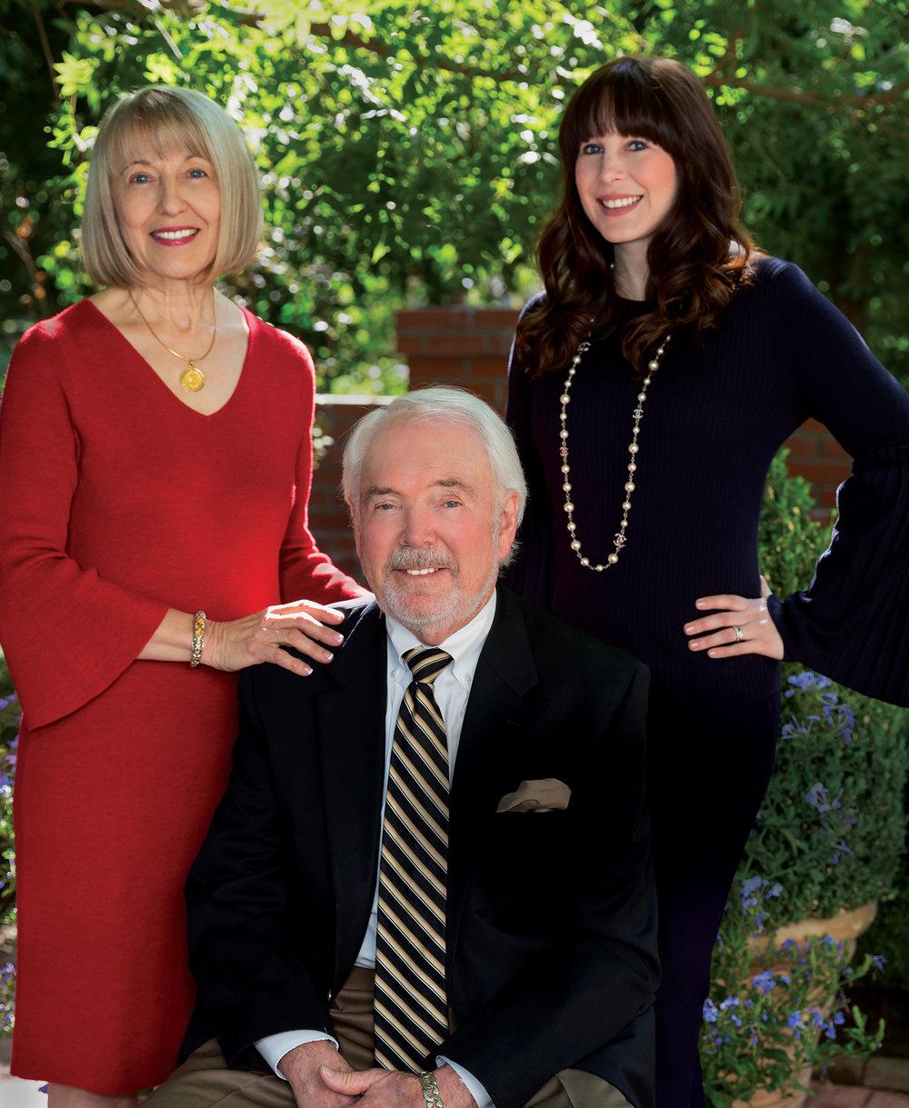 Tom Hyatt, Angie Hyatt, & Ashley Hyatt - Clients always come first.