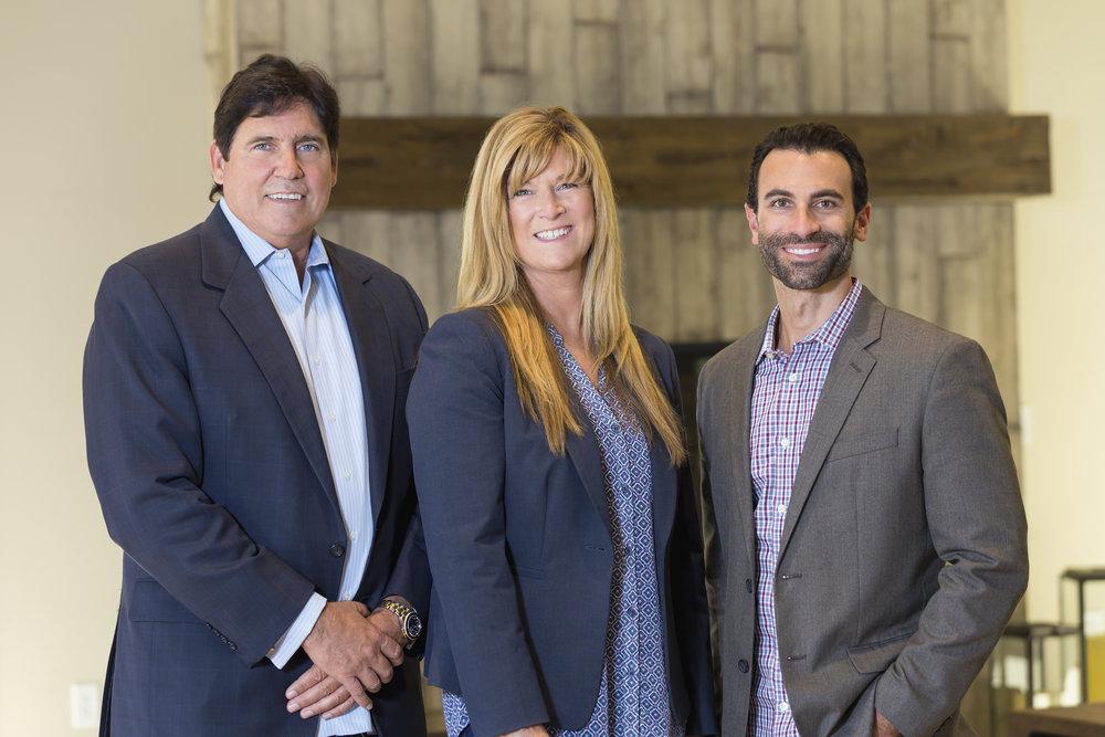 Timothy Jones, Miranda Jones, and Nick Bruno of Riverstone Development, LLC - Look forward to life.
