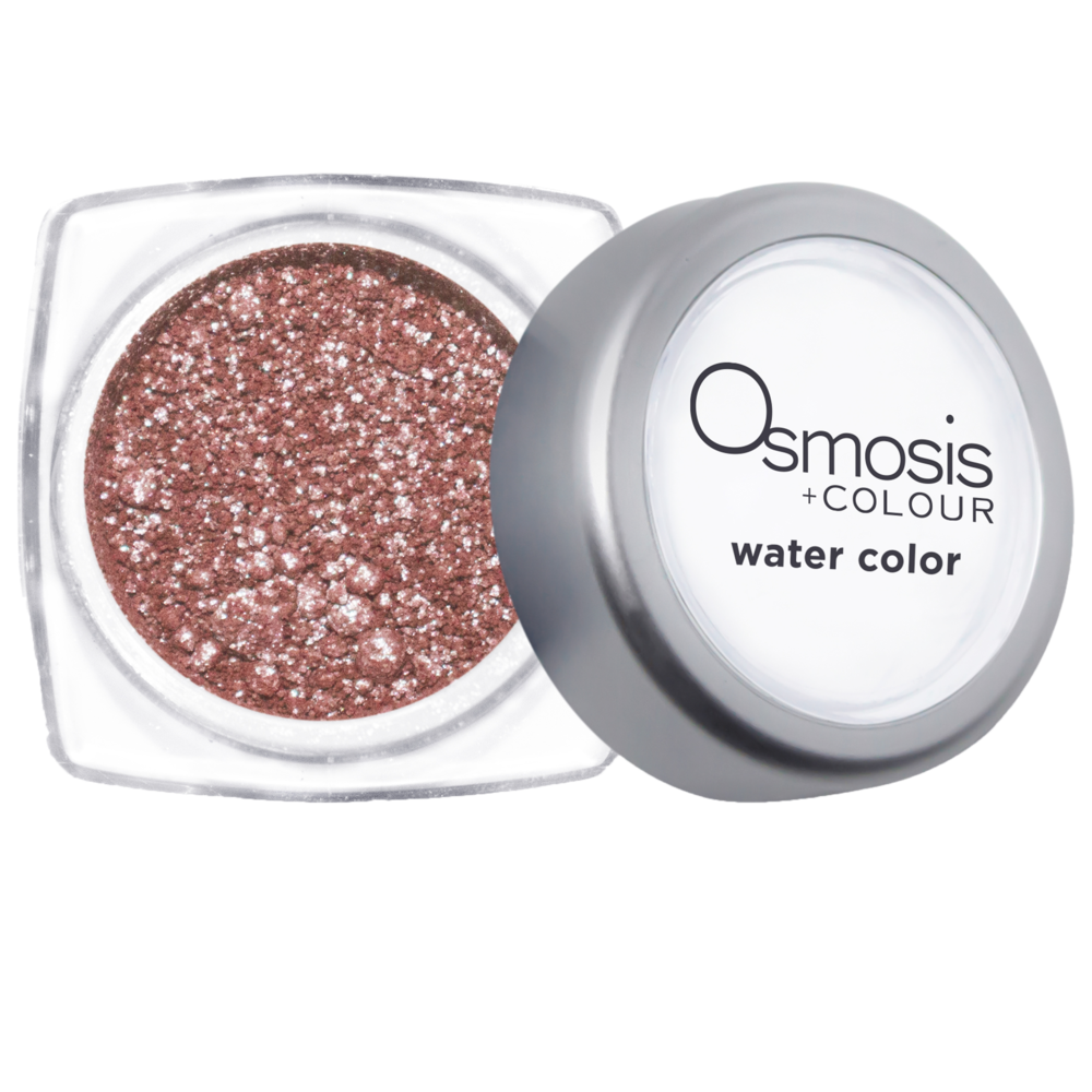 1. Osmosis Colour Mineral Cosmetics - As the founder and formulator, Robin McGee brings Osmosis Colour to life. The line has an array of mineral-based products and shades to accentuate and enhance your complexion while helping diminish the appearance of wrinkles, pores, and blemishes. Each eye, lip, and face product is formulated with skin-nourishing ingredients, including goji berry, vitamins, antioxidants, and peptides.Star Product Osmosis Colour® Water Colors in Pink Champagne $20.00 from www.skintrends.com