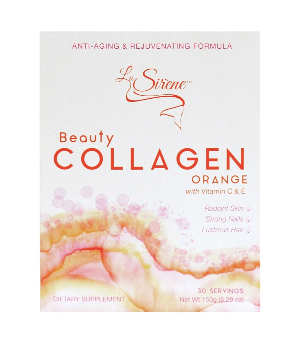 6. La Sirène - Anixia Rodriguez started her company to promote a noninvasive and 100% natural way to beautiful skin. And La Sirène beauty collagen was born. This 100% natural marine beauty collagen dietary supplement can be used while on-the-go and with any non-carbonated drink. It is sourced sustainably from the Pacific Ocean, utilizing some of Japan's best-kept secrets when it comes to youthful skin.Star Product La Sirène® Orange Beauty Collagen $79.99 from www.lasirenebeauty.com