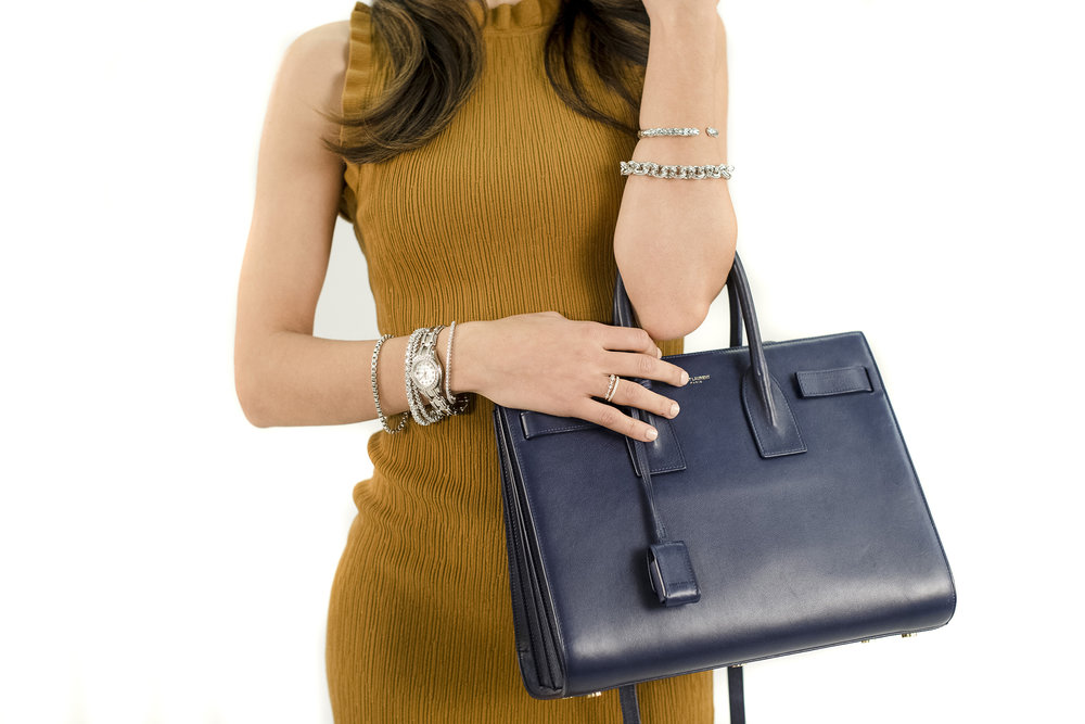 Dress by Current Air | Handbag and Accessories provided by Sceptre & Sash