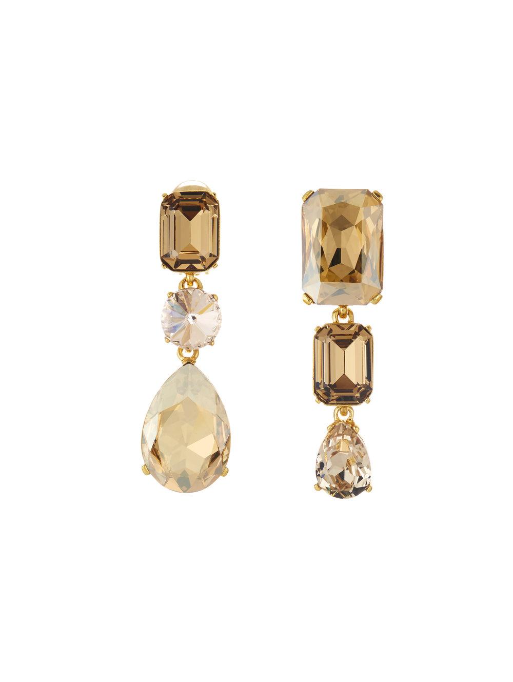 3. Oscar de la Renta Bold Crystal Earrings $450 from www.oscardelarenta.com