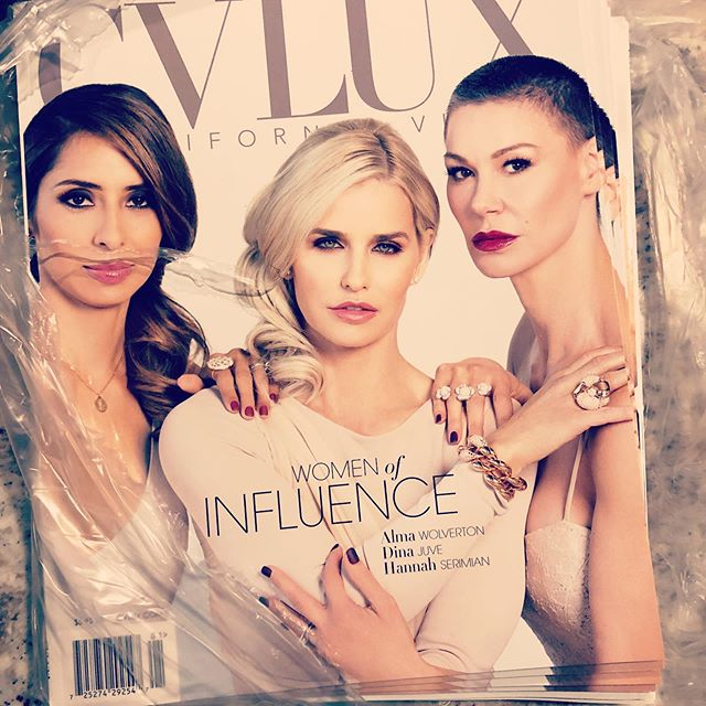 It's just better in person! Be sure to get your copy today before they sell out. #womenofinfluence #girlboss #luxlife #xoxo 💋