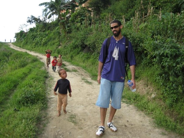 Kids like me. This one followed me through the hills of Cambodia for over a mile. Barefoot. Never said a word and never took his eyes off of me.