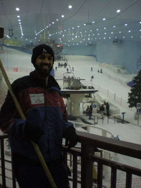 I've never been skiing or snowboarding. But I have been innertubing at Ski Dubai (the ski slopes inside a mall in Dubai, UAE). That's good enough for me.