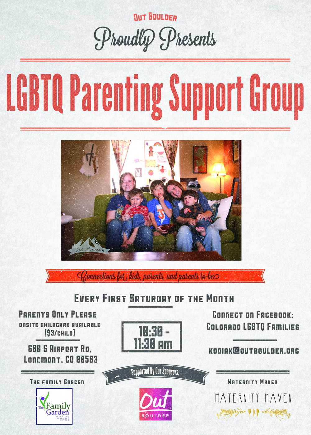 LGBTQ Parenting Support Group Lesbian Moms Gay Dads