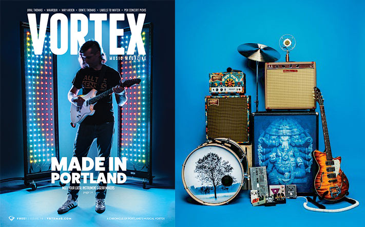 "HEARSiGHT featured in Vortex Magazine's ""Made in Portland"" 2018 issue. We appreciate the love Vortex!"