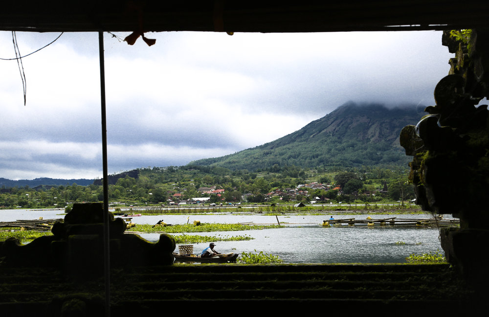Somewhere near Mount Batur, Bali