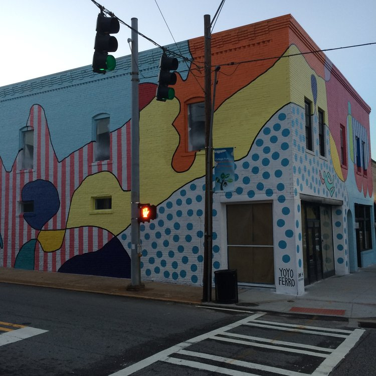 The recently opened Paper Plane Gallery, located in College Park; a subdivision of Atlanta.