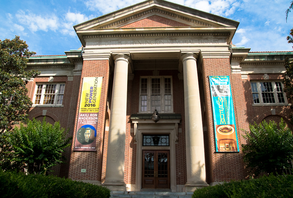 Hampton University's Museum. (Photography by The Culture Travelist, 2016)