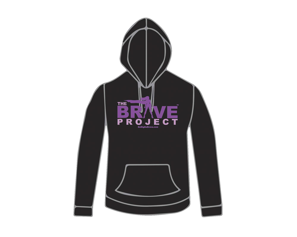 GET THE BRAVE HOODIE - WHILE SUPPLIES LAST