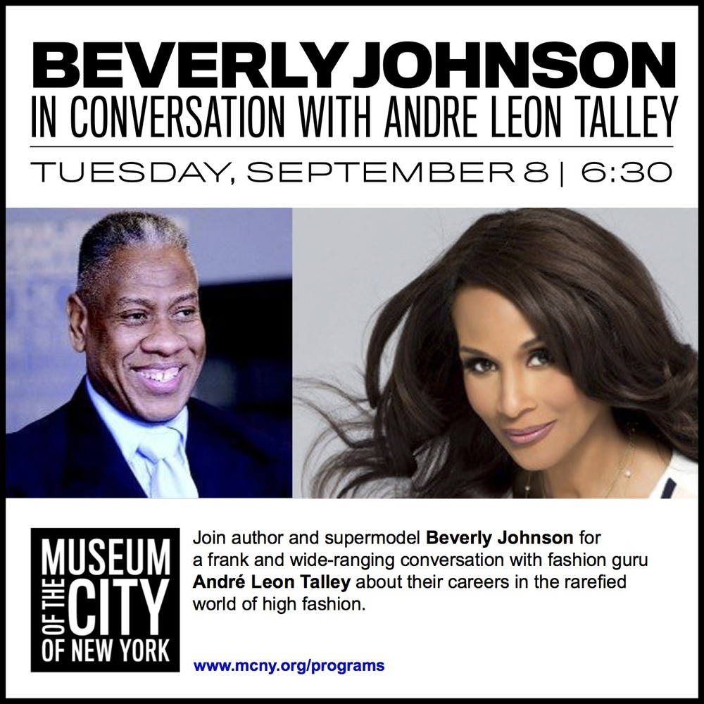 Beverly Johnson & Andre Leon Talley