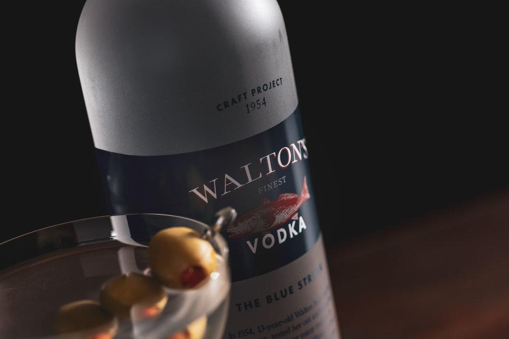 Walton's Finest | American Made Craft Vodka