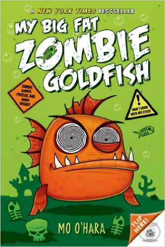 Real zombie fish sound scary, but I'm going to check this book out!