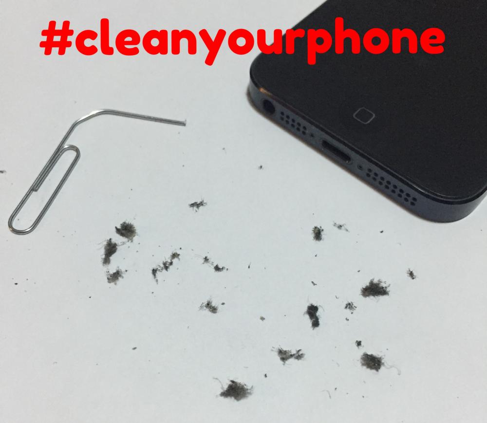 #cleanyourphone