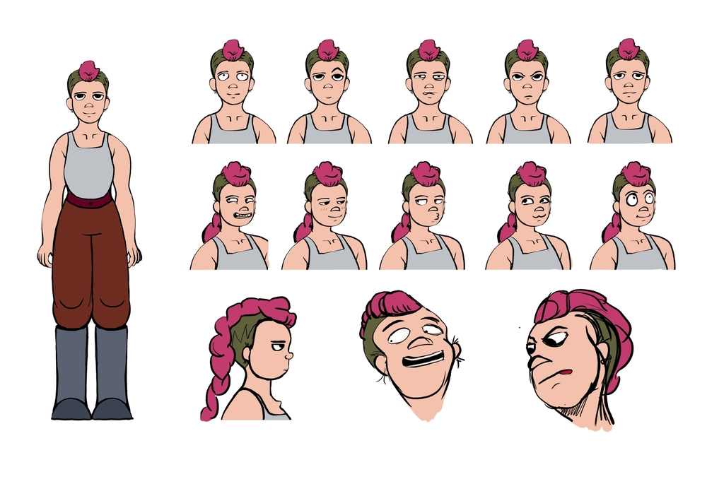 Percy Expression Sheet