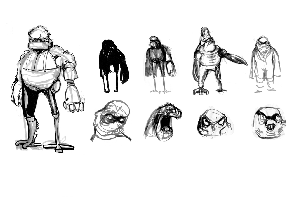Assorted Mechanic Concept Designs