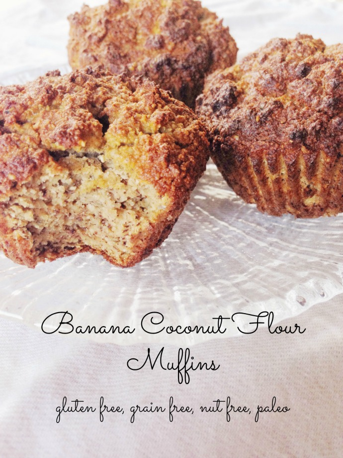 toddler approved banana coconut flour muffins - this little joy