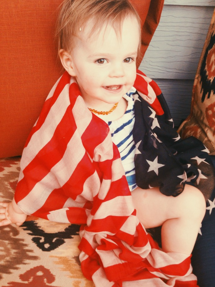 fourth of july - this little joy