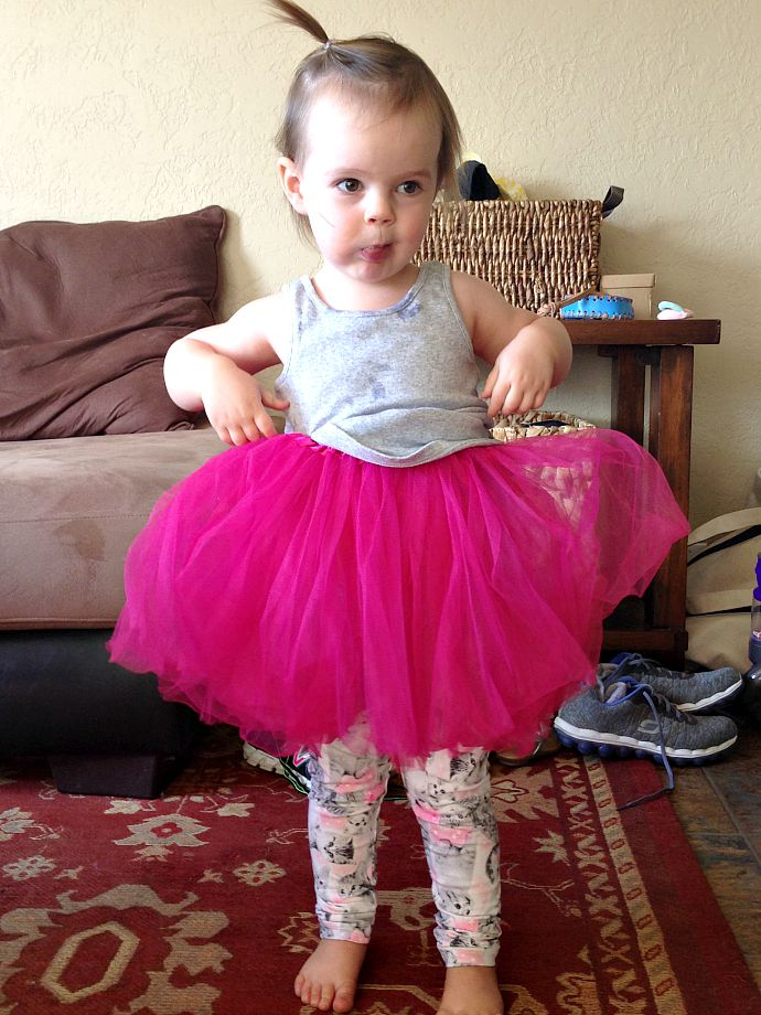 this little joy - Reese and her tutu
