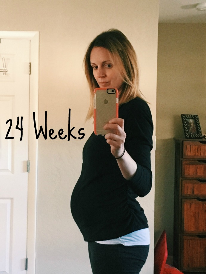 this little joy - 24 weeks pregnant