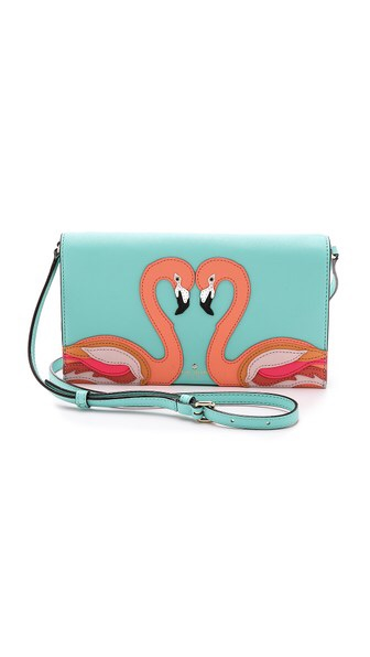 Kate Space Flamingo Wallet