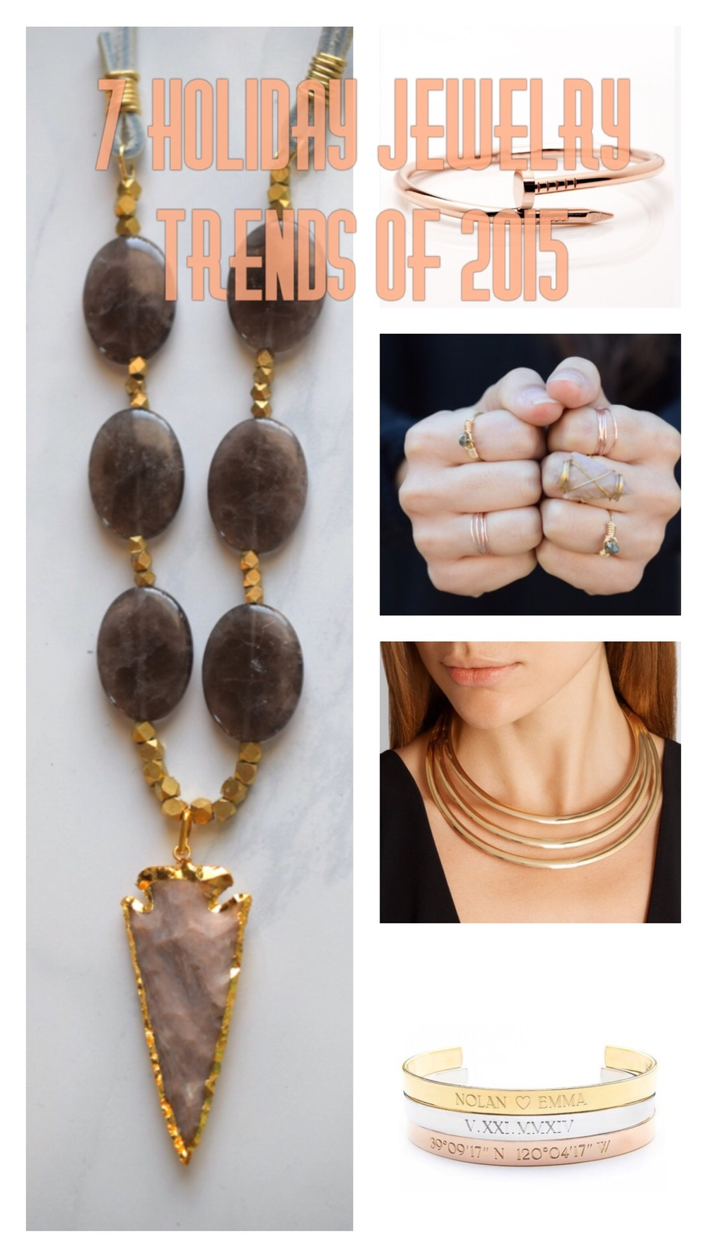 Holiday jewelry trends