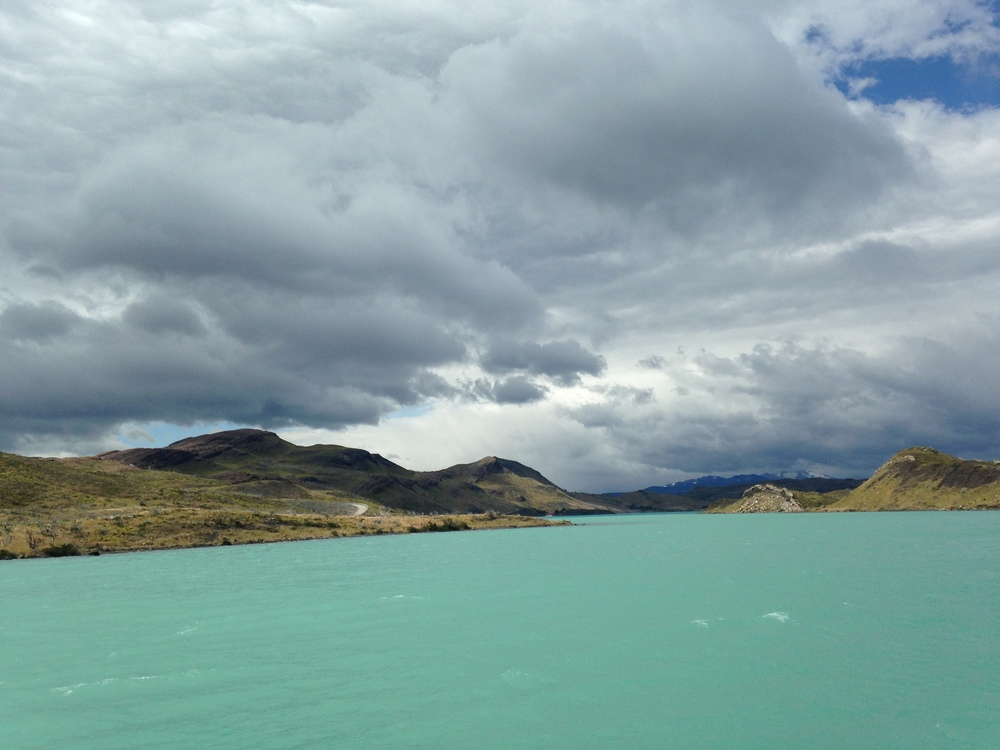 The view from the catamaran on the way to the Paine Grande campsite.