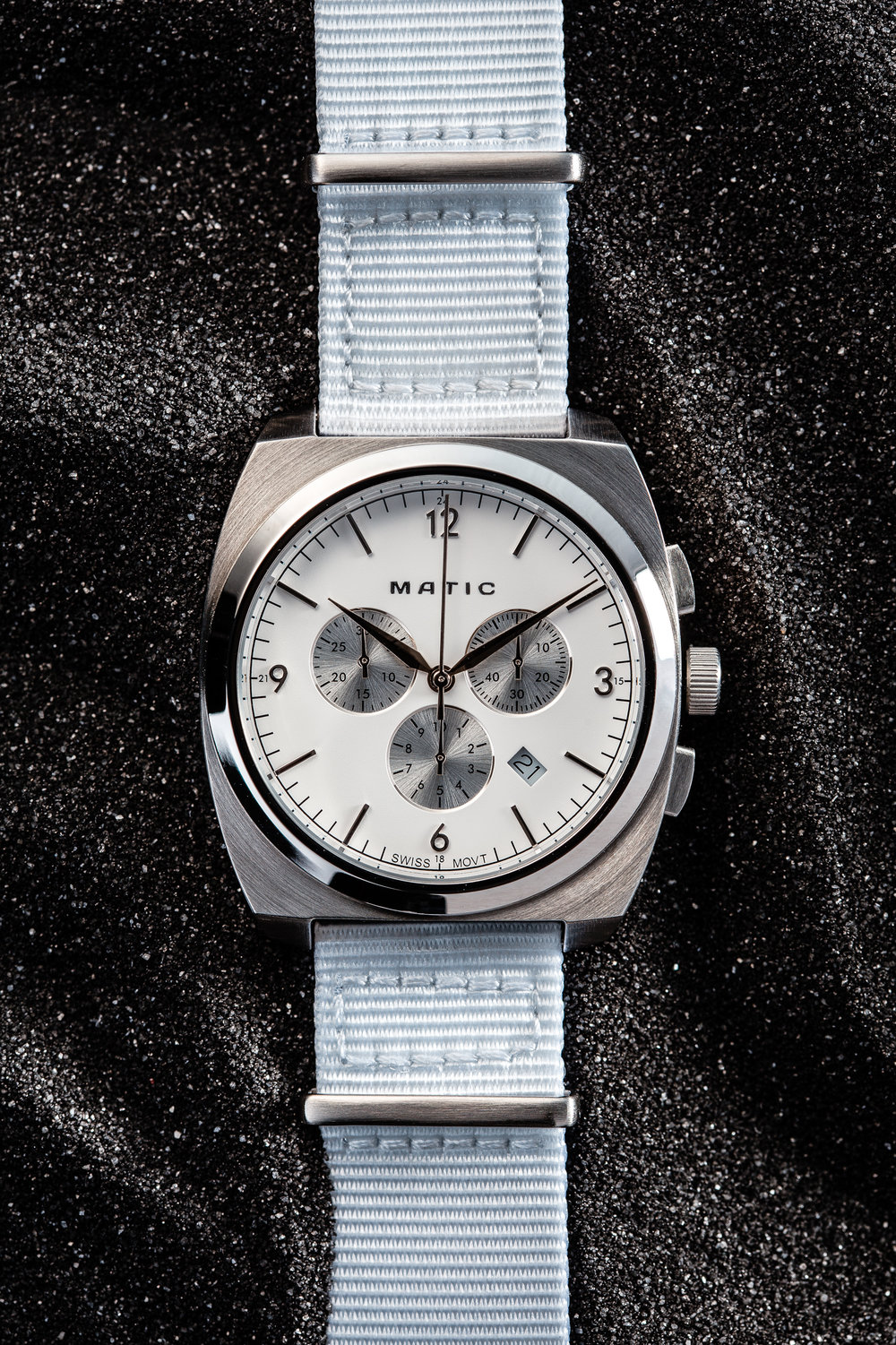 Matic Moonraker Watch Withe Nato Band