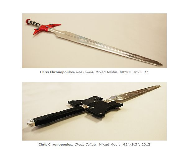 Chris Chronopoulos weapons