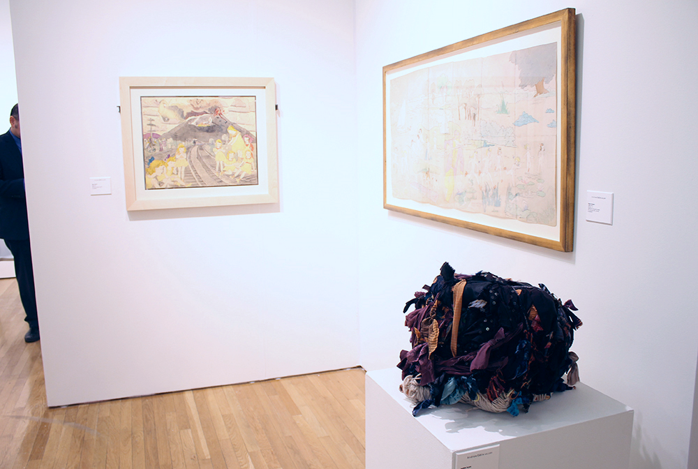 Henry Darger and Judith Scott at Andrew Edlin