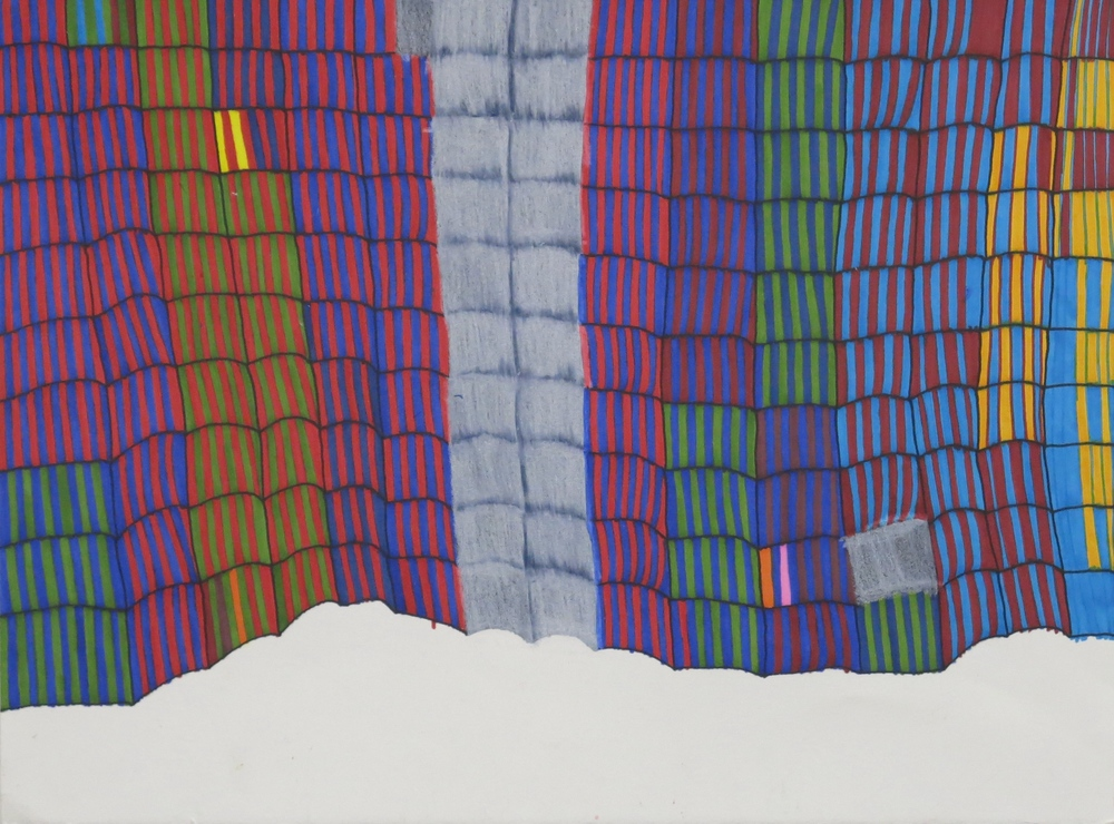 Susan Janow, Untitled, colored pencil and micron on paper