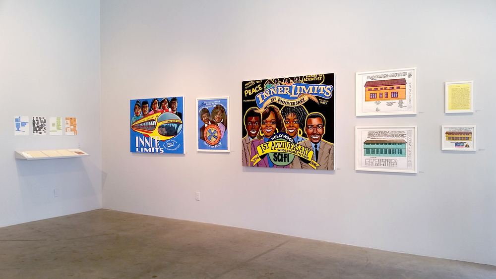 Roger Swike and William Scott installation view