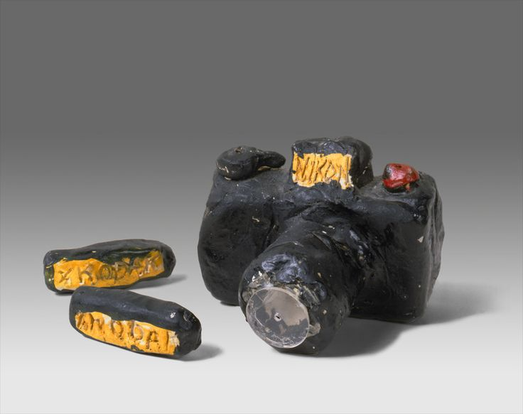 Tom Sachs,  Untitled (Nikon FM2) , ceramic, c. 1977