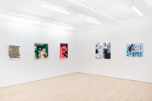 Installation view at JTT, all images courtesy JTT, NIAD, and the artist