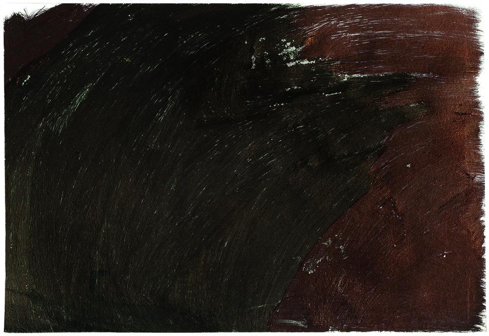 "Beverly Baker, Untitled, 2015, ballpoint pen on paper, 15"" x 22"""