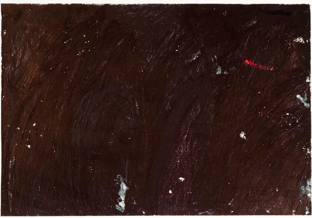 "Beverly Baker, Untitled, 2015, ballpoint pen on paper, 17.5"" x 23.5"""