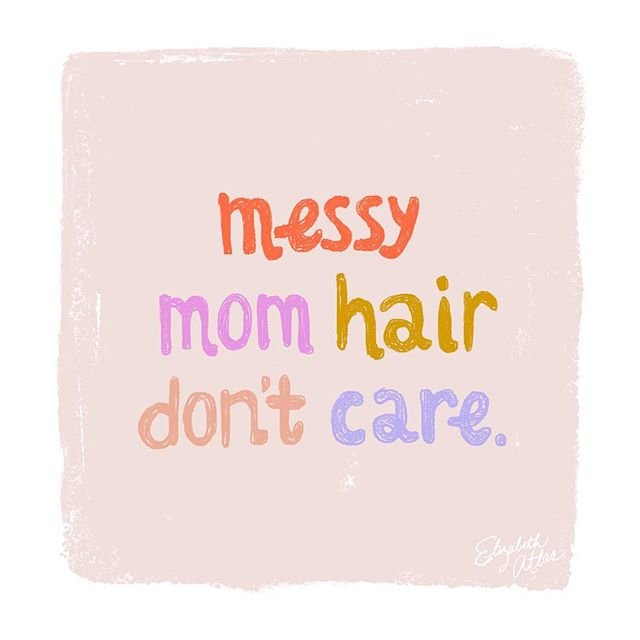 Anyone with me? 😂 . . . . . . #artsymama #colorlove #crafty #pattern #momquotes #momdaymotivation #handdrawntype #handlettering #sewingfabric #mamabear #messyhair #messymomhair #mamalife #fabricdesigner #textiledesign #patterndesign #flowerstagram #artistsoninstagram #makersgonnamake #workingmomlife #femaleartist #messyhair #patternlove #patternlicious #colormix #colorpop