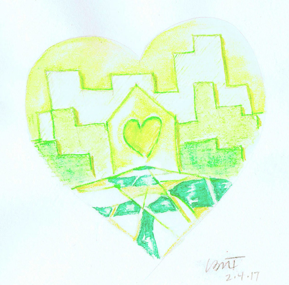 Green-Heart-Town-watercolor-pencil-mod