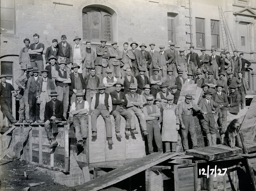 group-workmen-historic-town-hall-construction