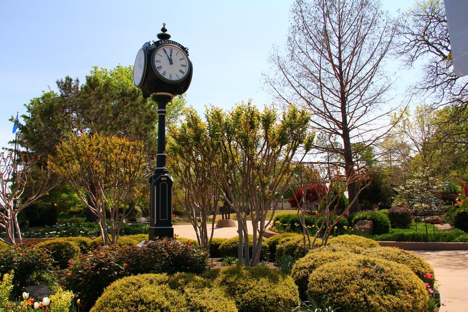 Century Clock in Ardmore, Oklahoma