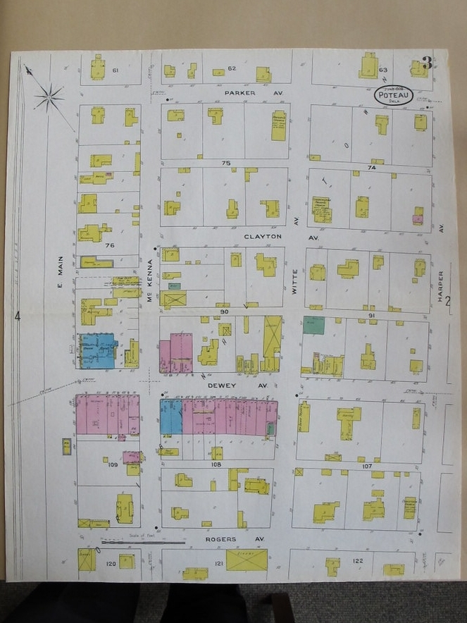 Downtown Poteau (1904)
